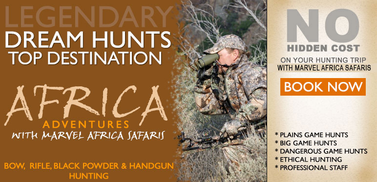 South Africa Hunting Safaris Bookings at affordable prices